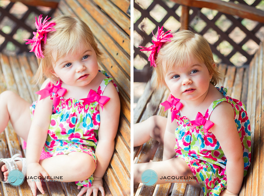 1 year old colorful dress