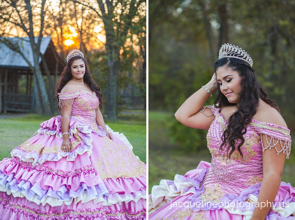 Custom made Handmade quinceanera dress sweet sixteen dress Dallas photographer